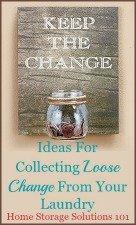 Laundry Change Jar