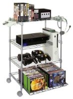 video gaming tower Living Room Organization