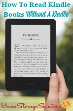 Read Kindle Books Without A Kindle