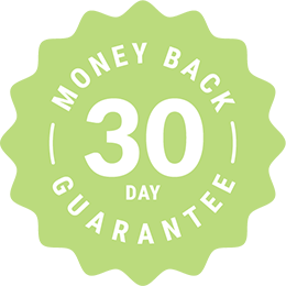 30 day money back guarantee for the Eat at Home meal plans