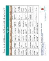 july declutter calendar