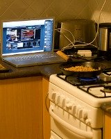 organizing recipes on the computer