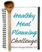 healthy meal planning challenge