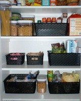 organizing a pantry