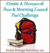 Create A Homework Area
