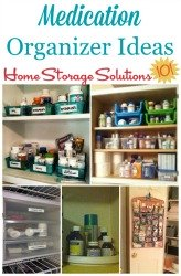 medication organizer ideas and solutions