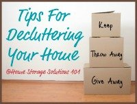 tips for decluttering your home series