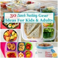 lunch packing gear for kids and adults