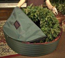 WreathKeeper wreath storage container