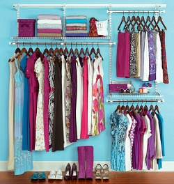 rubbermaid closet organizer