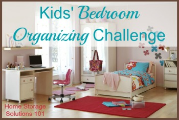 bedroom organizing for kids