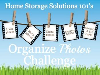 organize photos challenge