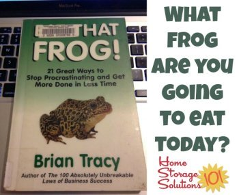 One of the keys to being productive and getting things done on your to do list is to 'eat that frog,' meaning to do the task we need to do, but are dreading, first. So what frog are you going to eat today?
