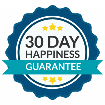 There's a 30 day happiness guarantee for this bundle!