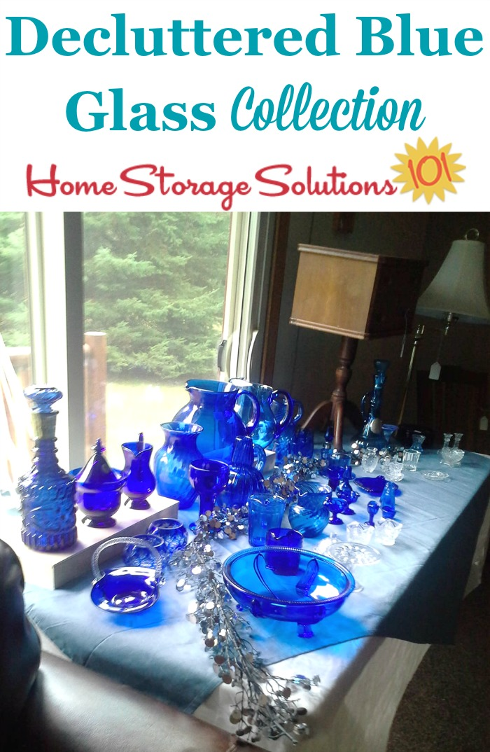 How to declutter collections from your home, of whatever variety they are {a #Declutter365 mission on Home Storage Solutions 101}