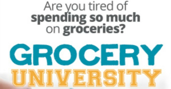 One of the best ways to save money on groceries is to use coupons, but many people go about it all wrong. The audio course from Grocery University is a great quick way to learn how to get results and lower your grocery bill each week with or without coupons. {review on Home Storage Solutions 101}
