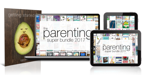 The Parenting Super Bundle has 80 resources to help you with the toughest and most rewarding job you'll ever have, parenting, including printables, eBooks and eCourses that are worth more than $1,200. It's on sale for over 97% off, but only available for a limited time {more information on Home Storage Solutions 101}
