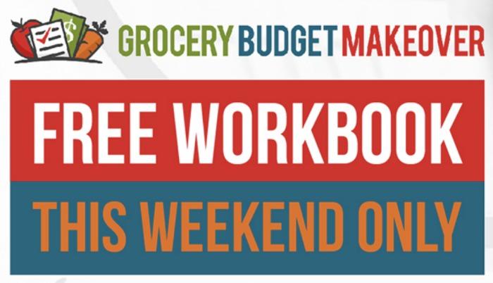 Grocery Budget Makeover + Free Workbook