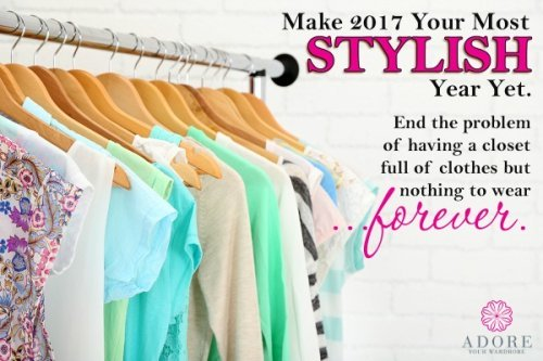 The Adore Your Wardrobe ecourse will help you learn the rules of fashion that work for your unique body type and personality, so you can declutter your closet of everything that doesn't work, and organize your closet with only things you adore. Here's my review {on Home Storage Solutions 101}
