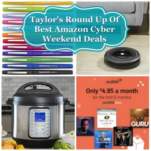 Taylor's round up of best Amazon Cyber Weekend deals