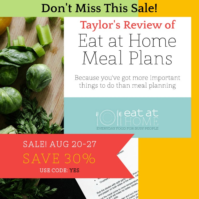 Click here to find out about Eat At Home meals sale happening now
