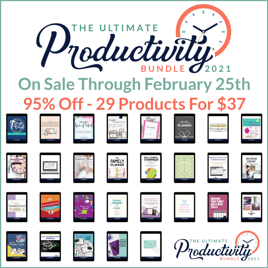 Ultimate Productivity Bundle is on sale now, learn more