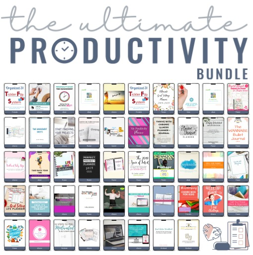 All of the products in the 2019 Ultimate Productivity Bundle