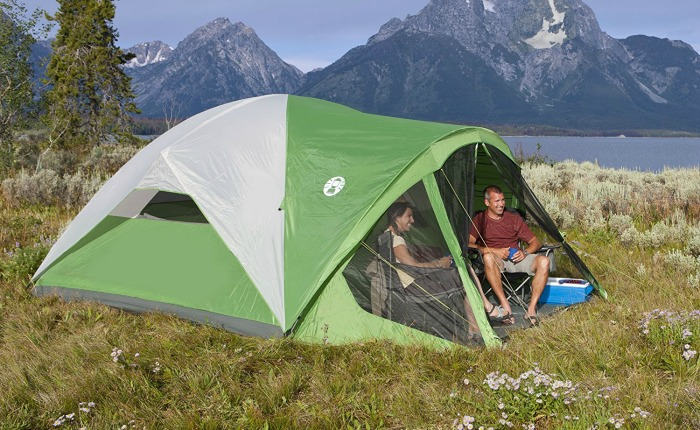 8 person Coleman Evanston Screened Tent