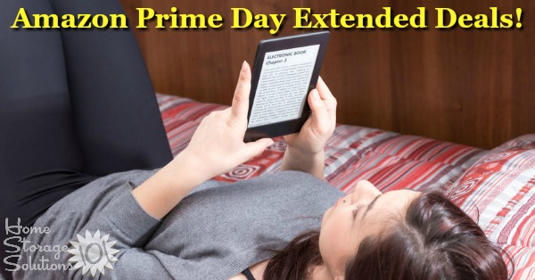 Here is Taylor's round up of the most popular Amazon Prime Day deals for 2018 that have been extended. These deals won't last, so get them while you can.