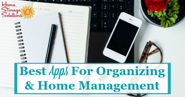 Technology can help us at home as well as work. Check out reviews and recommendations in the Home Storage Solutions 101 App Store, sharing the best apps for organization and home management {on Home Storage Solutions 101}