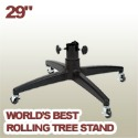 29 inch rolling artificial Christmas tree stand