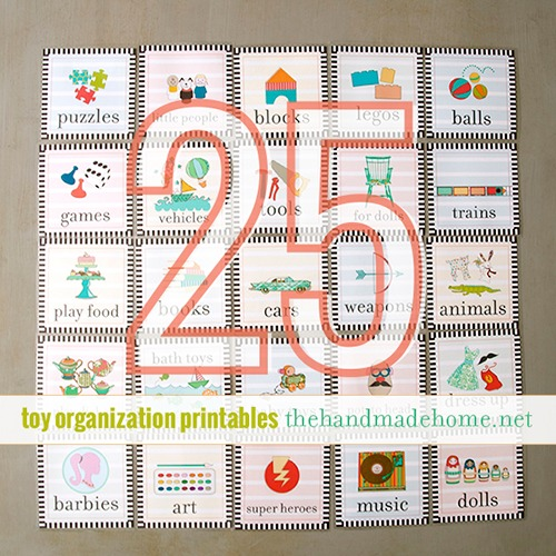 Back To School Printable Organizing Bundle {Sale: August 1 ...