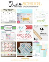 Back to School Printable Organizing Bundle sale