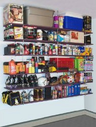 hanging storage shelves