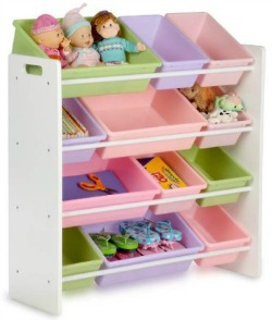 toy organizer and storage bins