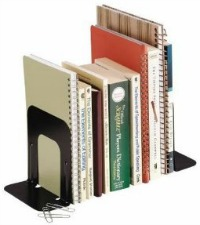 bookends to organize books
