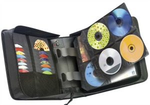 CD and DVD binder