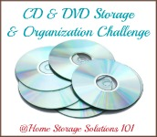 CD & DVD storage and organization challenge
