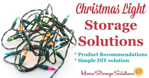 christmas light storage solutions no more tangled strings strands