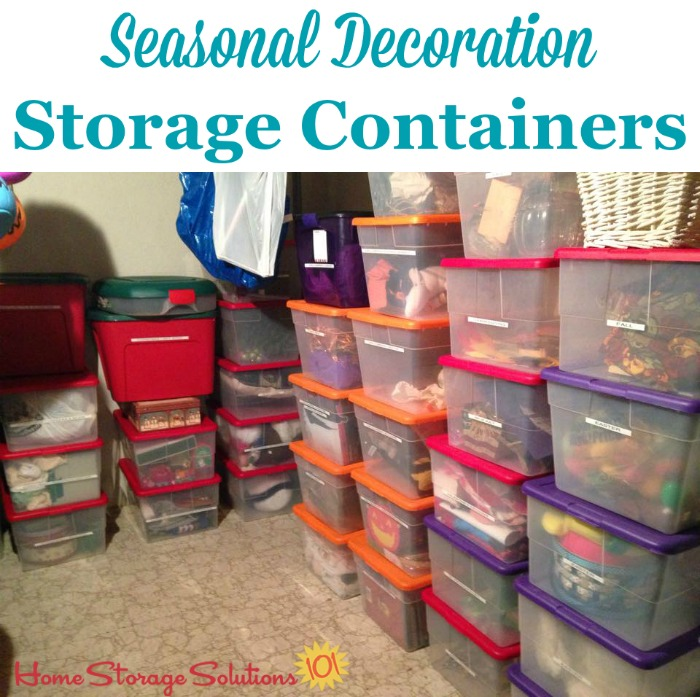 Christmas Storage Containers: Festive Way To Hold Your ...