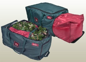 Christmas Tree Storage Containers Duffels To Roll Tree Into Storage