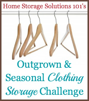 Beau Outgrown And Seasonal Clothing Storage Challenge ...