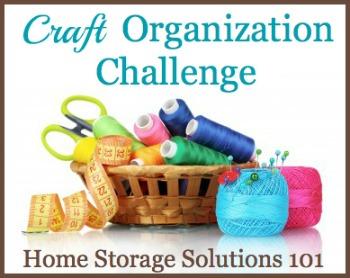 craft organization challenge