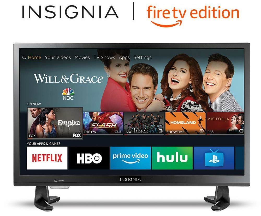 24-inch Insignia HD Smart LED TV- Fire TV