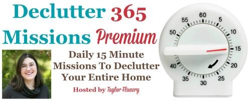 Declutter 365 missions premium