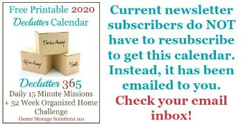Current newsletter subscribers do NOT have to resubscrive to get this calendar. Instead, it has been emailed to you. Check your email inbox.