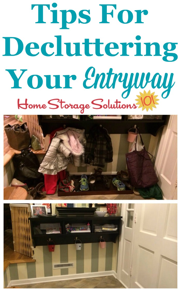 images How to Declutter an Entryway