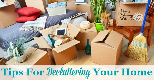 Decluttering Tips For Your Home: How To Find Your Path To Peace {Series}