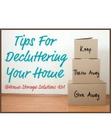 decluttering your home series