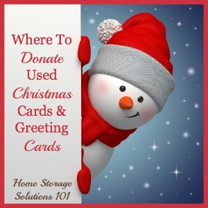 Where To Donate Used Christmas Cards And Greeting
